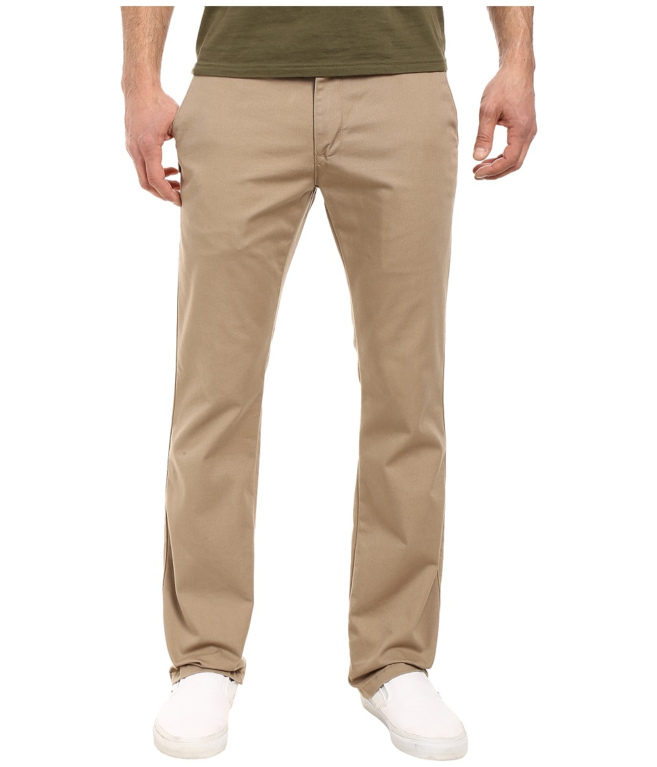 Vans - GR Chino Pants (Military Khaki) Men's Casual Pants