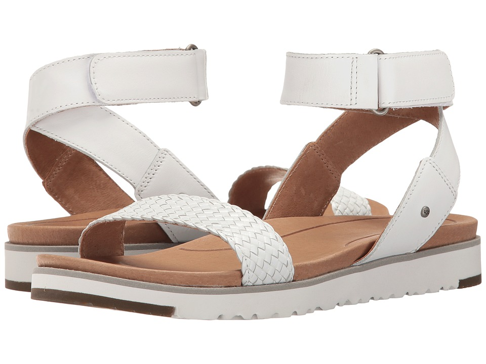 UGG - Laddie (White) Women's Sandals