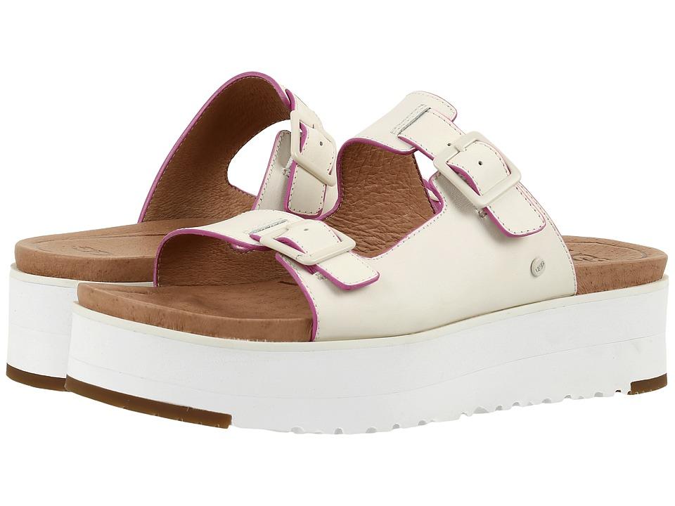 UGG - Hanneli (White) Women's Sandals