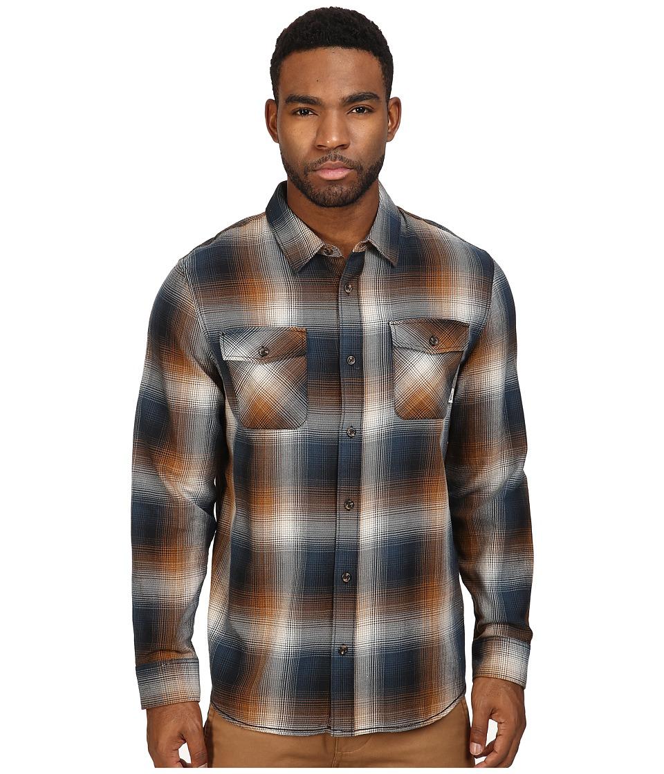 Vans - Conroy Flannel (Black/Rubber) Men's Clothing