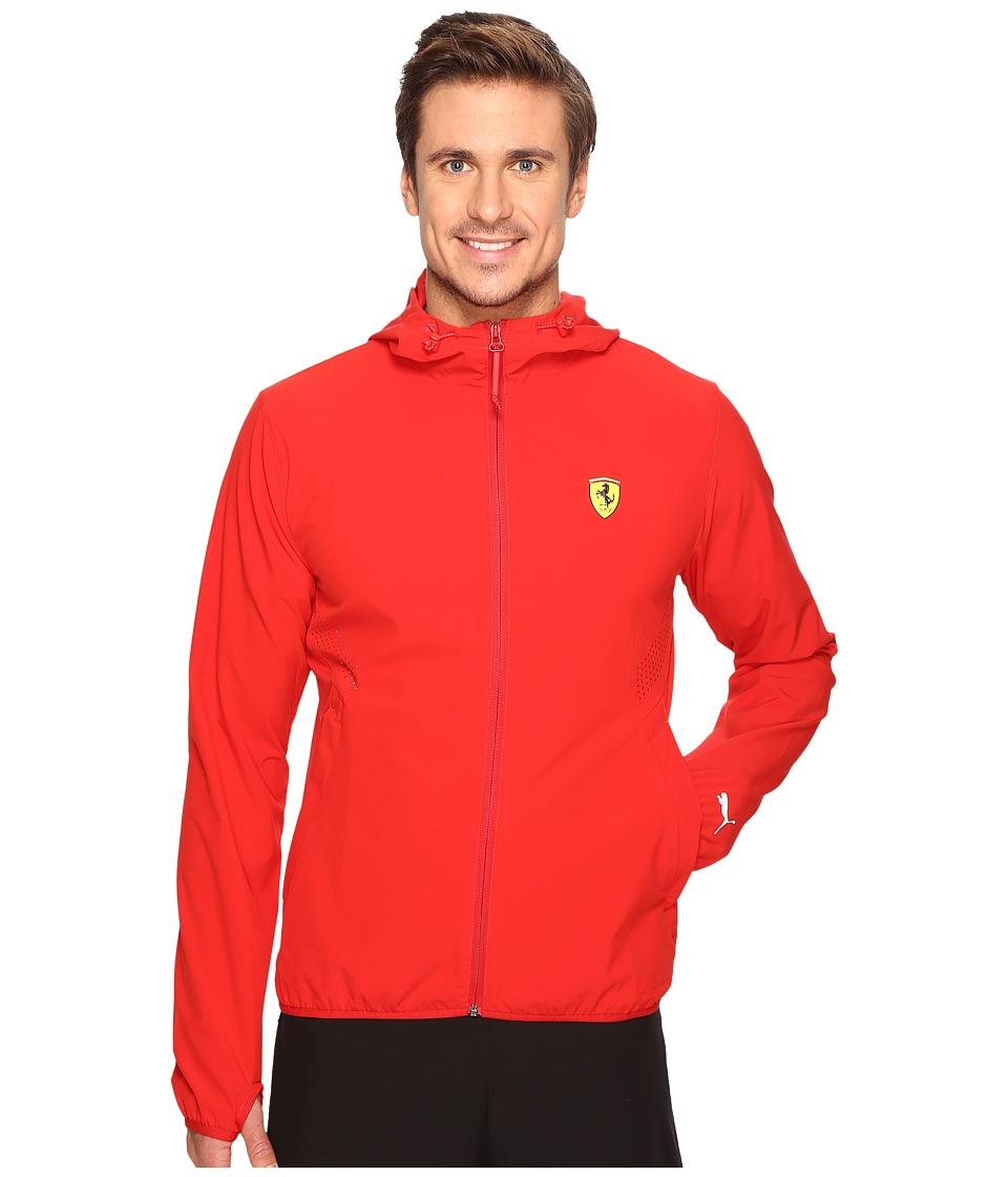 PUMA - SF Lightweight Jacket (Rosso Corsa) Men's Coat