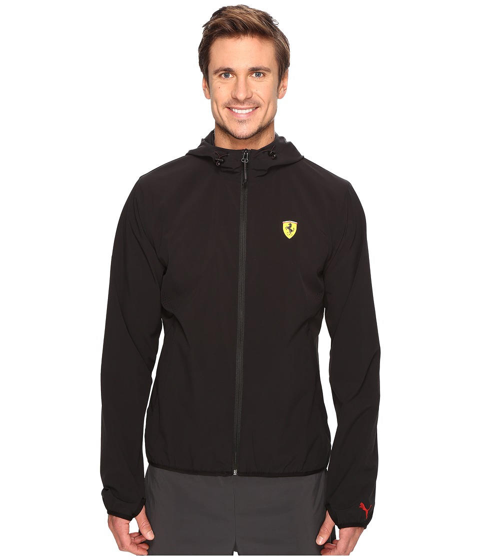 PUMA - SF Lightweight Jacket (PUMA Black) Men's Coat