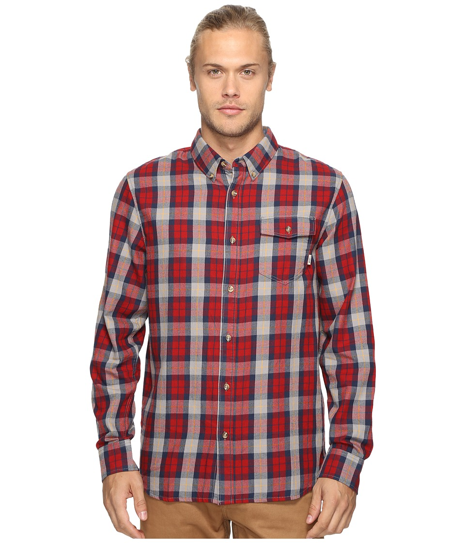 Vans Lachlan Flannel (Red Dahlia/Frost Grey) Men