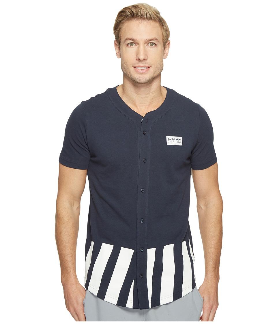 PUMA - RBR Baseball Jersey (Total Eclipse) Men's T Shirt