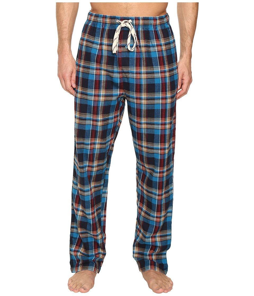Original Penguin - Single Flannel Pants (Seaport) Men's Pajama