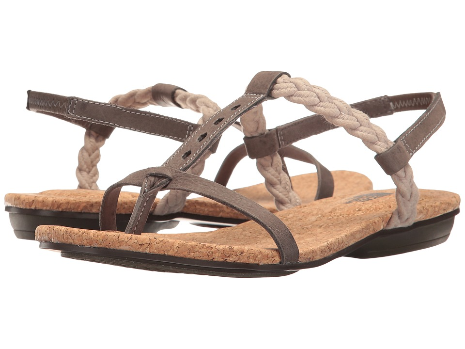 The North Face - Bridgeton Braid Slingback (Dark Gull Grey/Simply Taupe) Women's Sandals