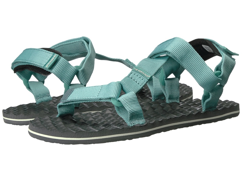 The North Face - Base Camp Switchback Sandal (Agate Green/Graphite Grey) Women's Sandals