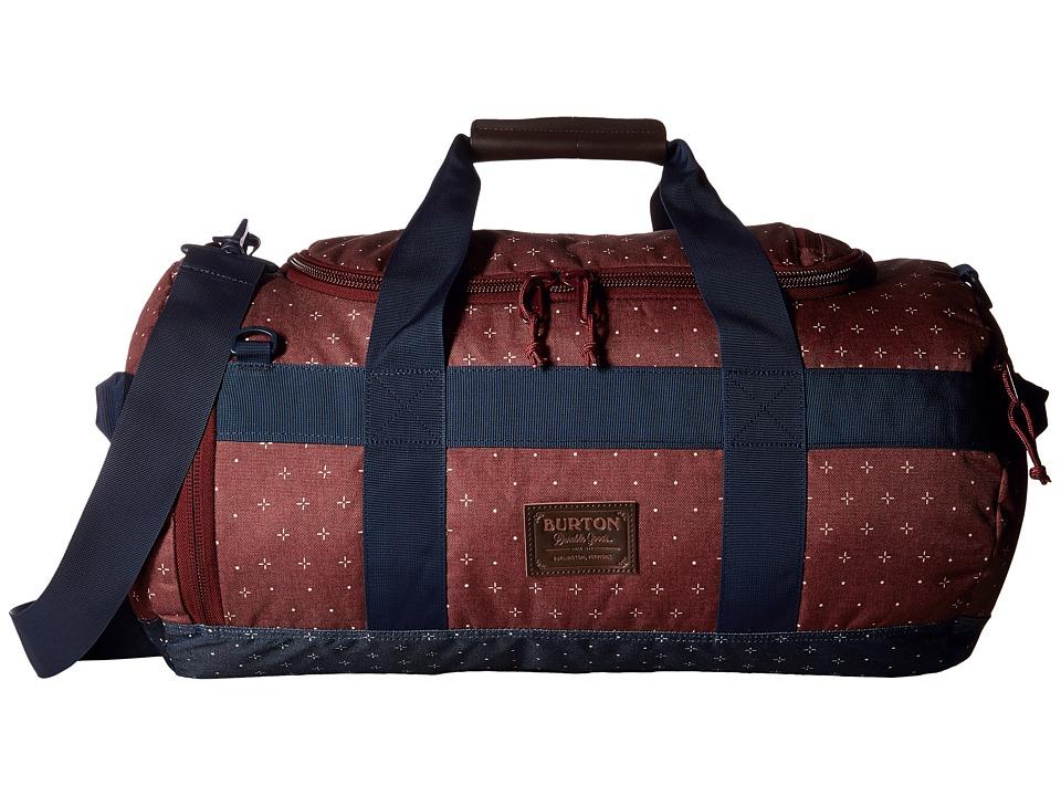 Burton - Backhill Duffel Small 40L (Mandana Print) Duffel Bags