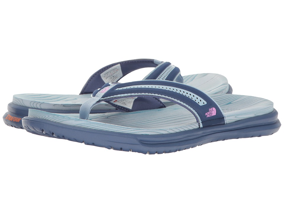 The North Face - Base Camp XtraFoam Flip Flop (Coastal Fjord Blue/Sweet Violet (Prior Season)) Women's Sandals