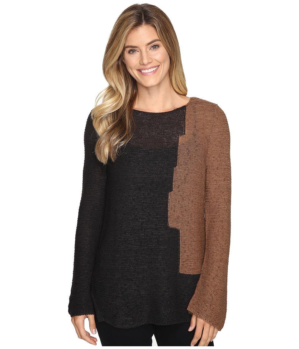 NIC+ZOE - Terracotta Top (Dark Maple) Women's Clothing