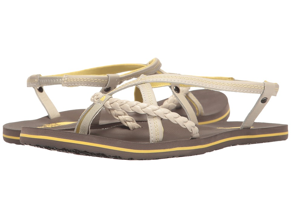 The North Face - Base Camp Plus Gladi (Rainy Day Ivory/Falcon Brown (Prior Season)) Women's Sandals