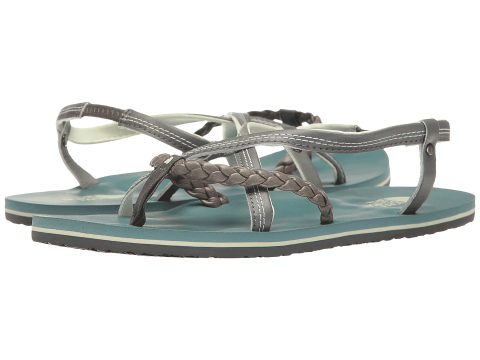 The North Face - Base Camp Plus Gladi (Graphite Grey/Trellis Green (Prior Season)) Women's Sandals