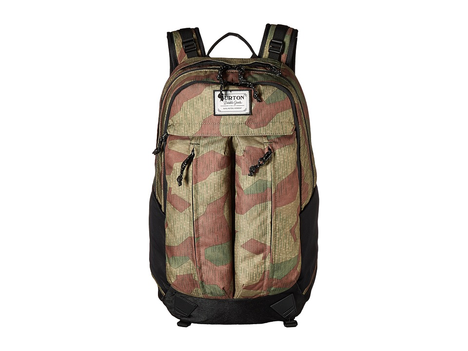 Burton - Bravo Pack (Splinter Camo Print) Backpack Bags