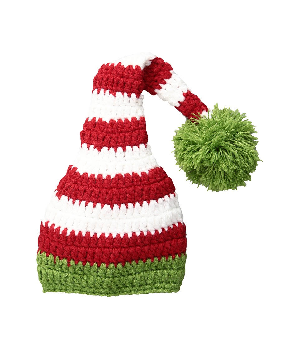 Mud Pie - Elf Hat (Infant) (Red Multi) Caps