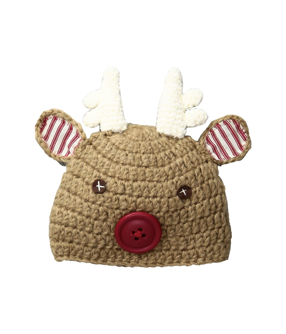 Mud Pie - Reindeer Hat (Infant) (Brown) Caps