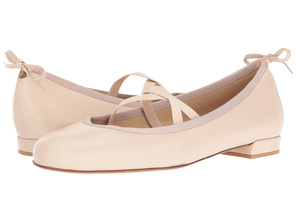 Stuart Weitzman - Bolshoi (Pastry Nappa) Women's Dress Flat Shoes