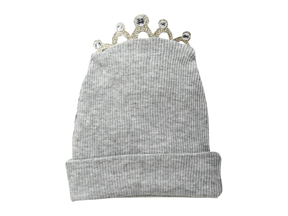 Mud Pie - Tiara Cap (Infant) (Grey) Caps