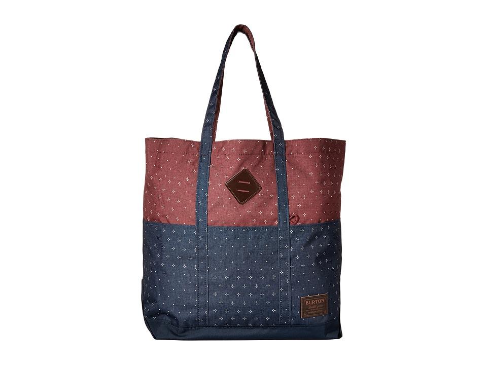 Burton - Crate Tote Large (Mandana Print) Tote Handbags