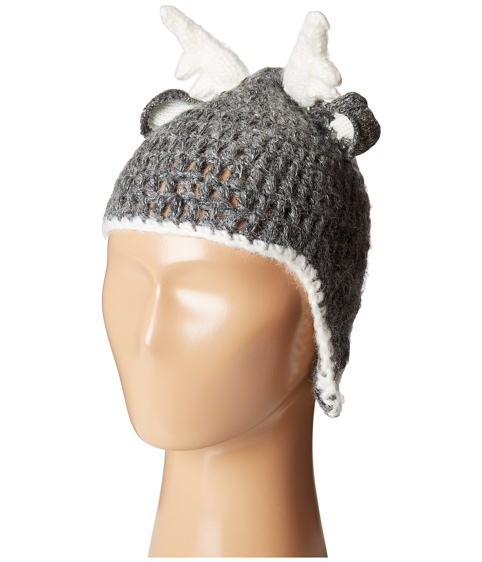 Mud Pie - Deer Hat (Infant) (Grey) Caps