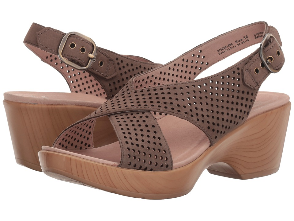 Dansko - Jacinda (Walnut Nubuck) Women's Sling Back Shoes