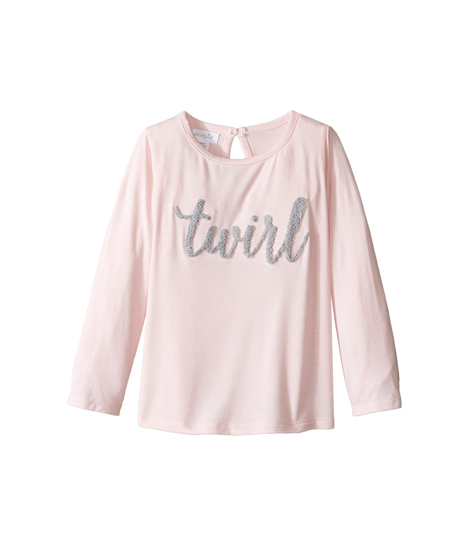 Mud Pie - Boucle Yarn Shirts Twirl (Infant/Toddler) (Pink) Girl's Clothing