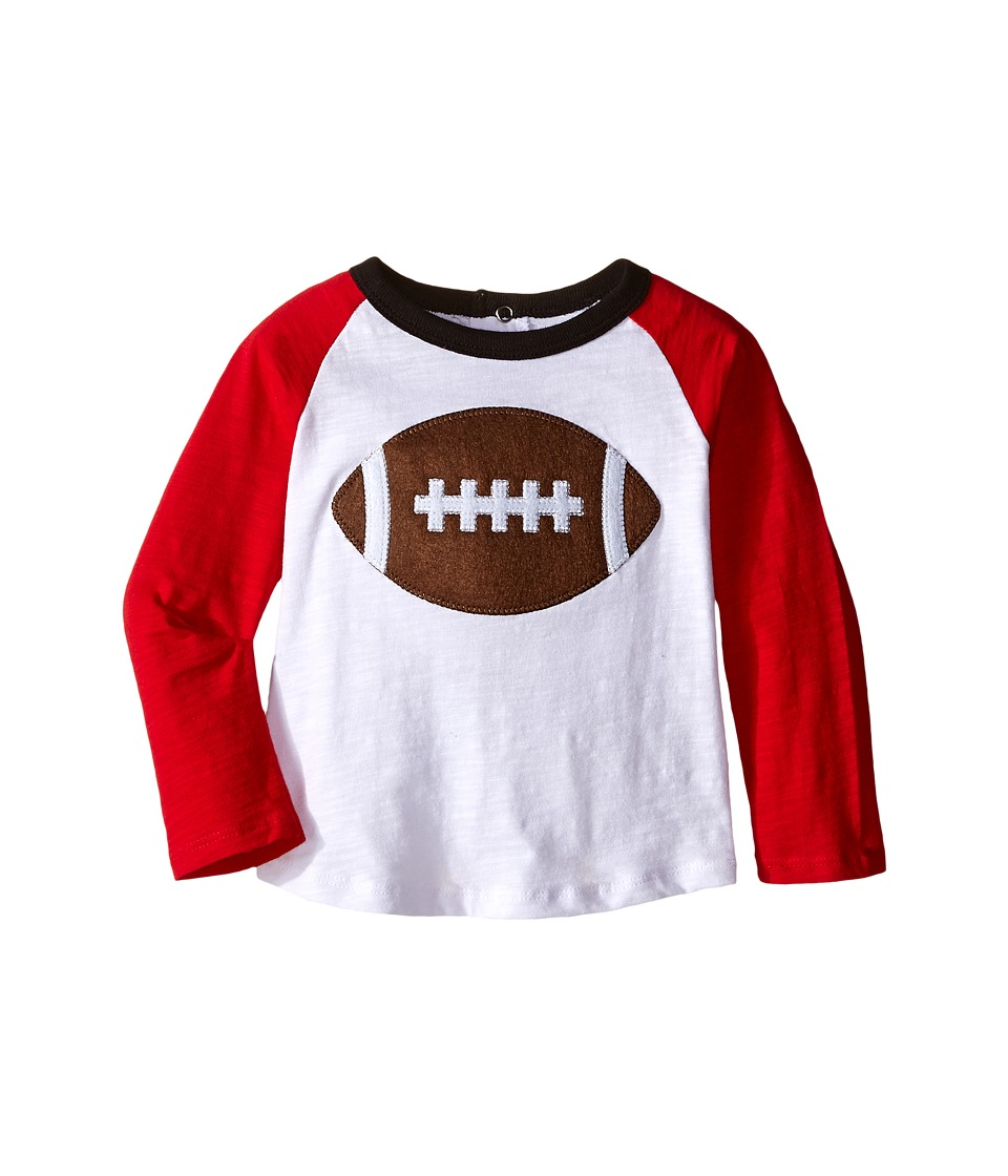 Mud Pie - Gameday Football T-Shirts (Infant/Toddler) (Red/Black) Boy's T Shirt