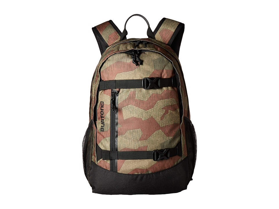 Burton - Day Hiker Pack 25L (Splinter Camo Print) Day Pack Bags