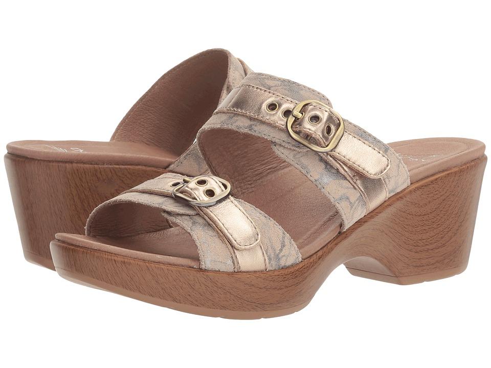 Dansko - Jessie (Taupe Marble) Women's Slide Shoes