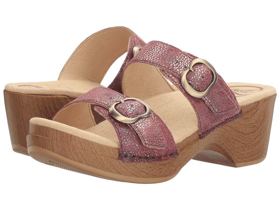 Dansko - Sophie (Rose Iridescent) Women's Sandals