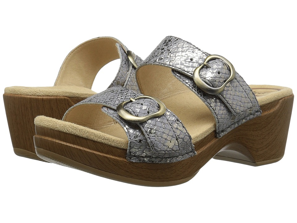 Dansko - Sophie (Metallic Snake) Women's Sandals