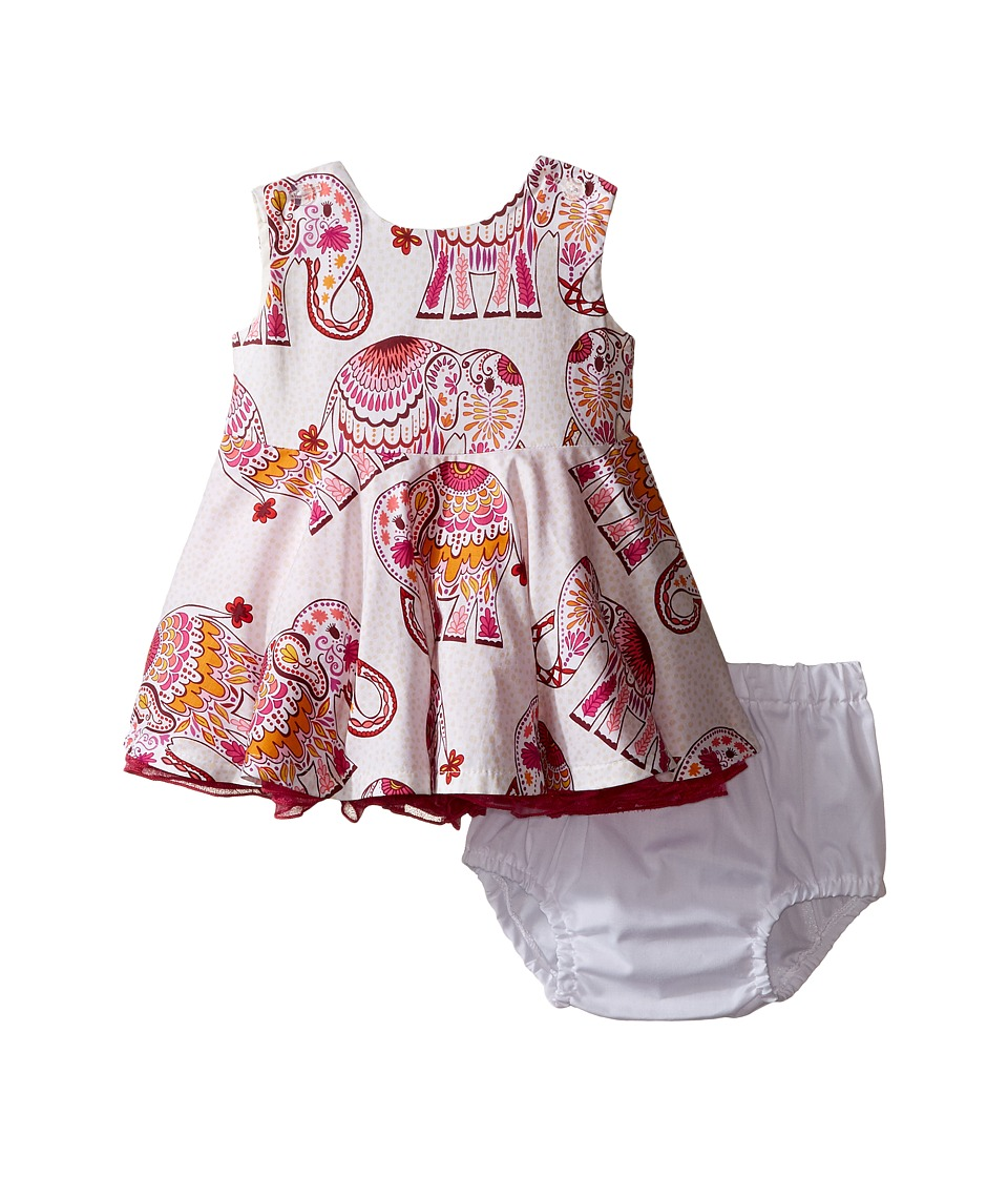 fiveloaves twofish - Little Party Elephant Dress (Infant) (Hot Pink) Girl's Dress