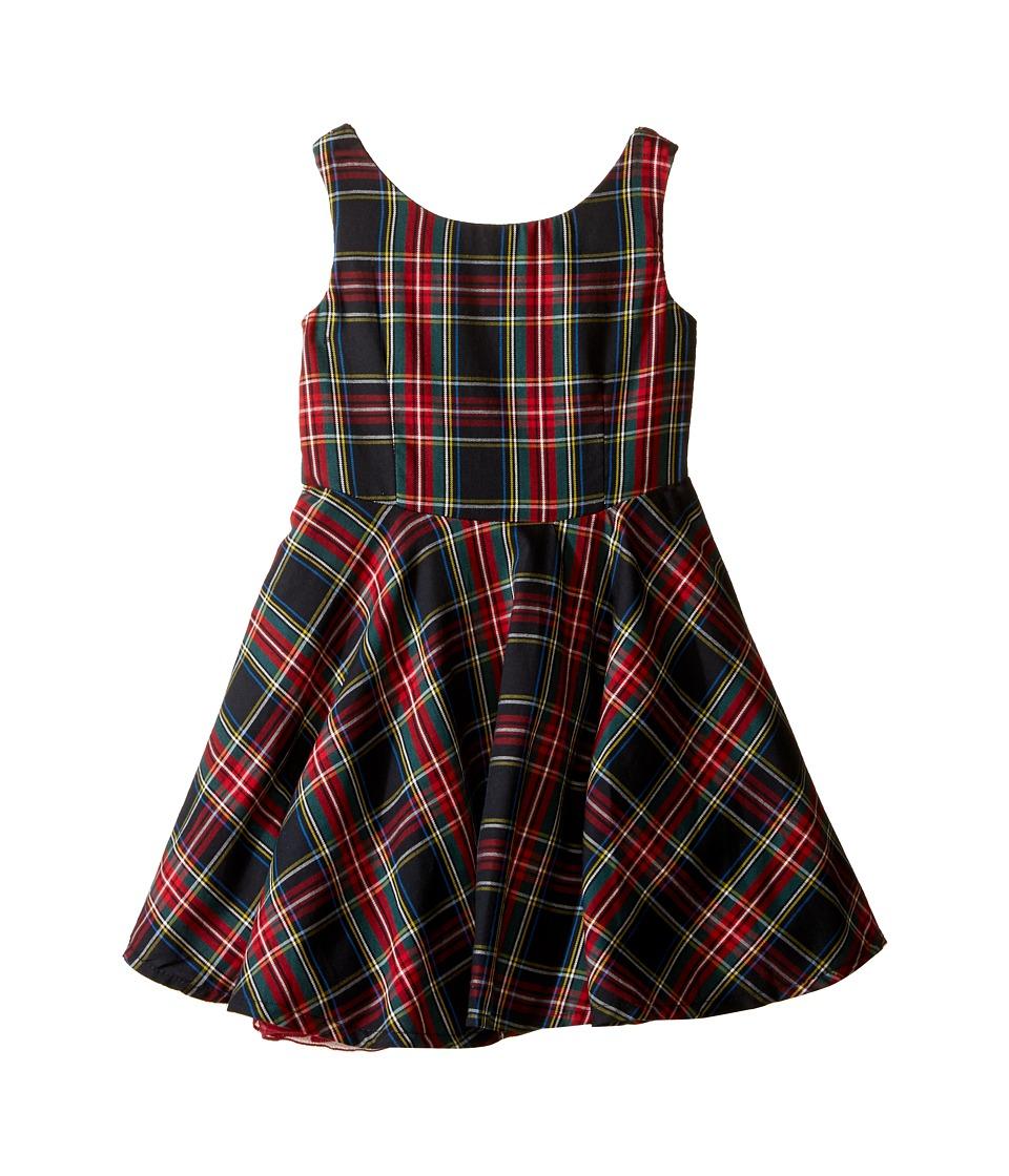 fiveloaves twofish - Little Party Tartan Dress (Toddler/Little Kids/Big Kids) (Tartan) Girl's Dress