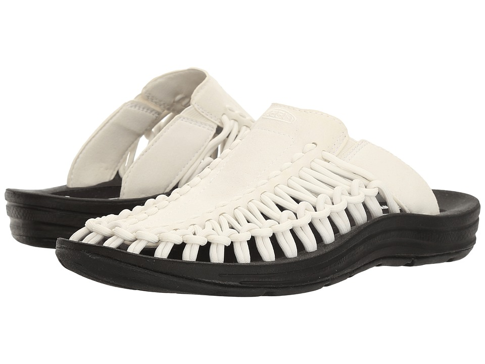 Keen - Uneek Slide (White/Black) Women's Shoes