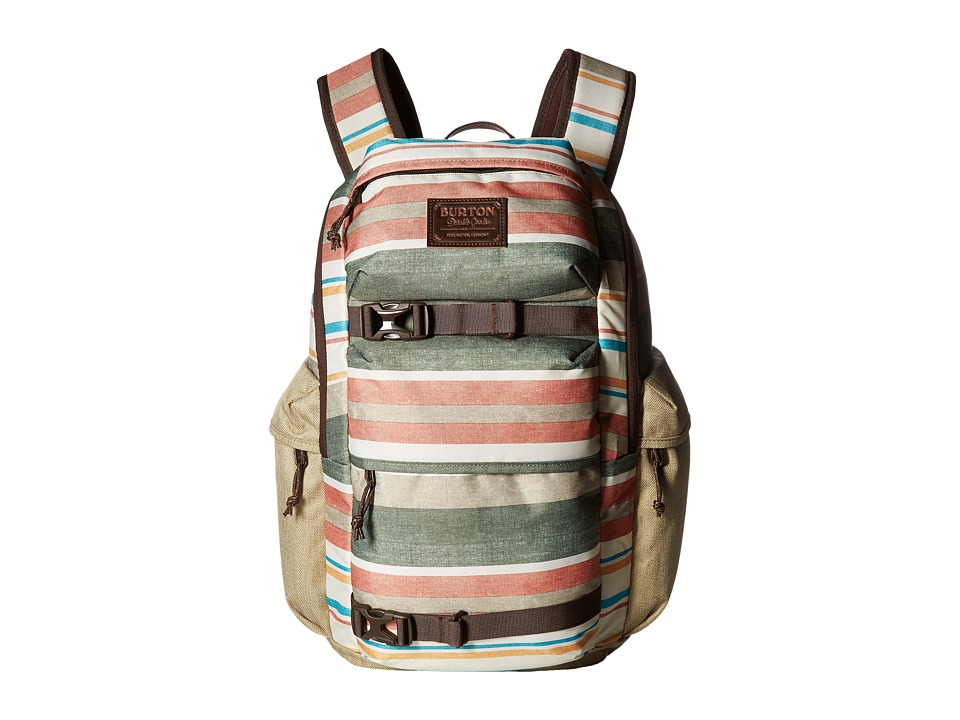 Burton - Kilo Pack (Rancher Stripe Print) Backpack Bags