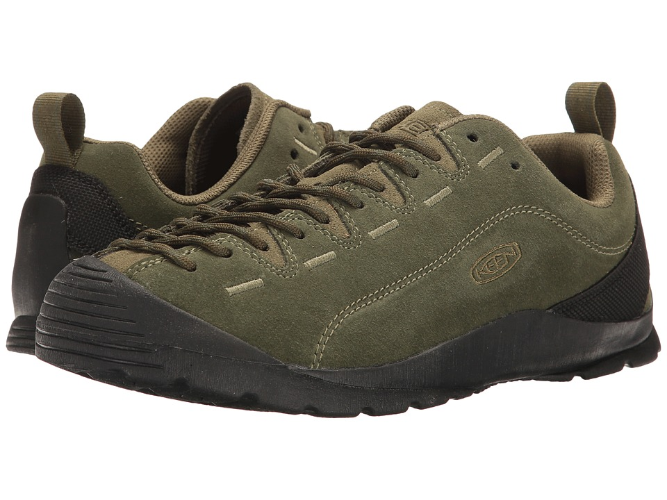 Keen - Jasper (Black Forest/Climbing Ivy) Men's Lace up casual Shoes