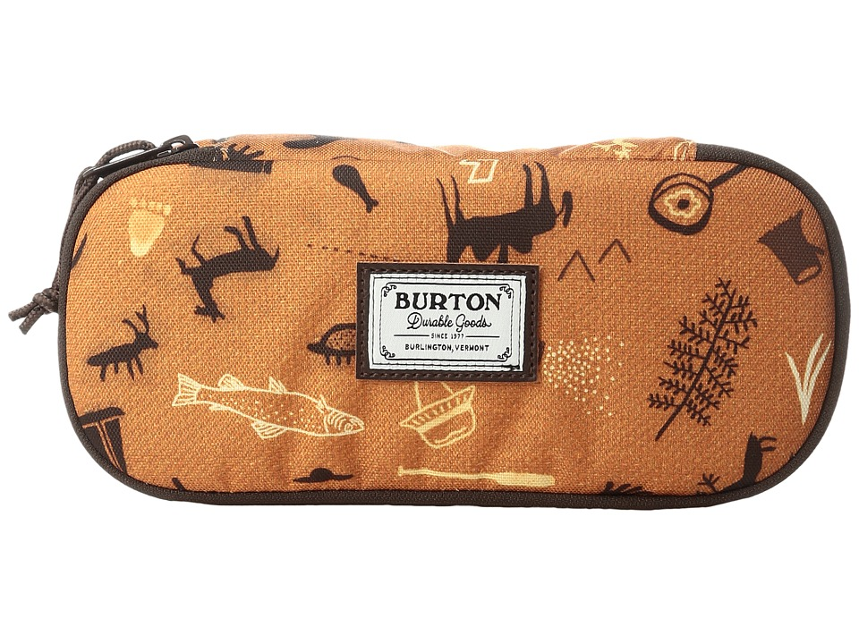 Burton - Switchback Case (Caveman Print) Wallet