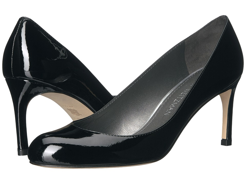Stuart Weitzman - Moody (Black Patent) Women's Shoes