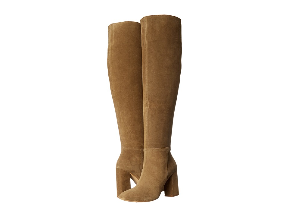 Free People - Liberty Heel Boot (Taupe) Women's Boots
