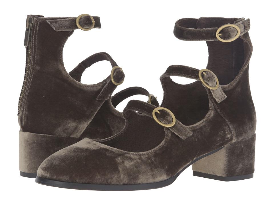Free People - Mercury Block Heel (Grey) High Heels