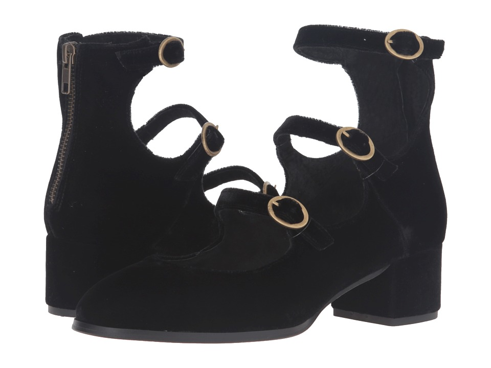 Free People - Mercury Block Heel (Black) High Heels