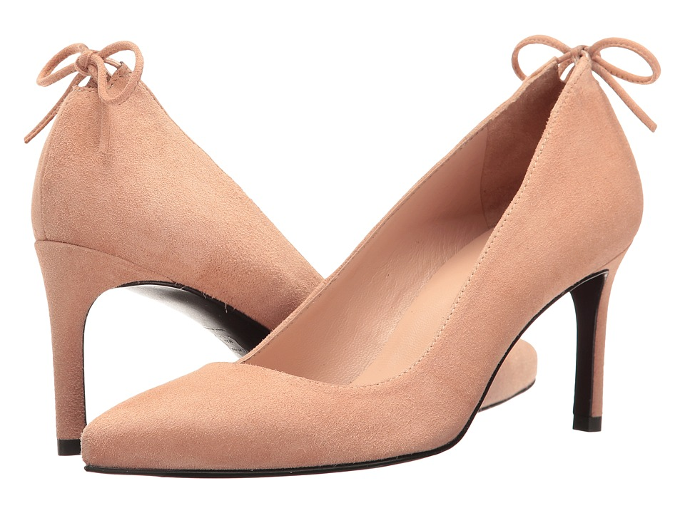 Stuart Weitzman - Peekabow (Naked Suede) Women's Shoes