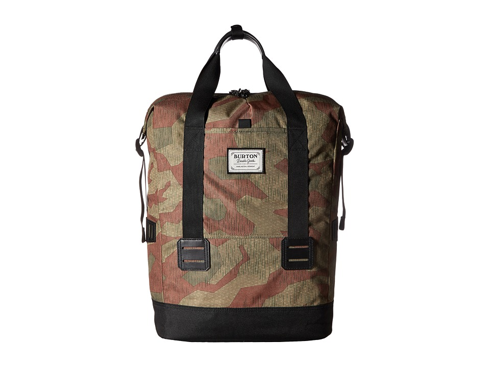 Burton - Tinder Tote (Splinter Camo Print) Tote Handbags