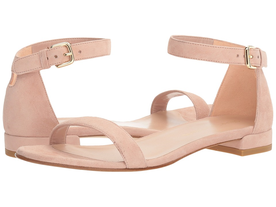 Stuart Weitzman - Nudistflat (Rose Suede) Women's Shoes
