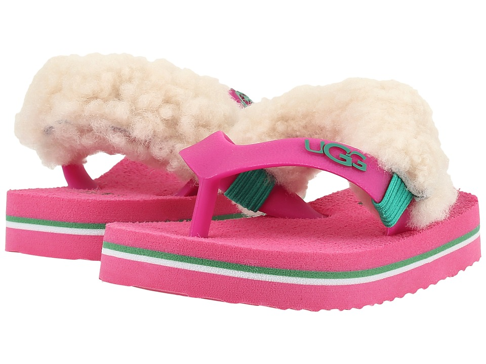 UGG Kids Yia Yia II Neon (Infant/Toddler) (Pink) Girls Shoes