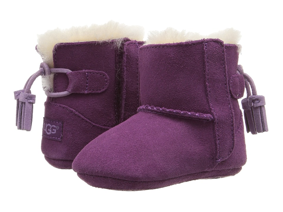 UGG Kids - Zayden Tassel (Infant/Toddler) (Purple Passion) Girls Shoes