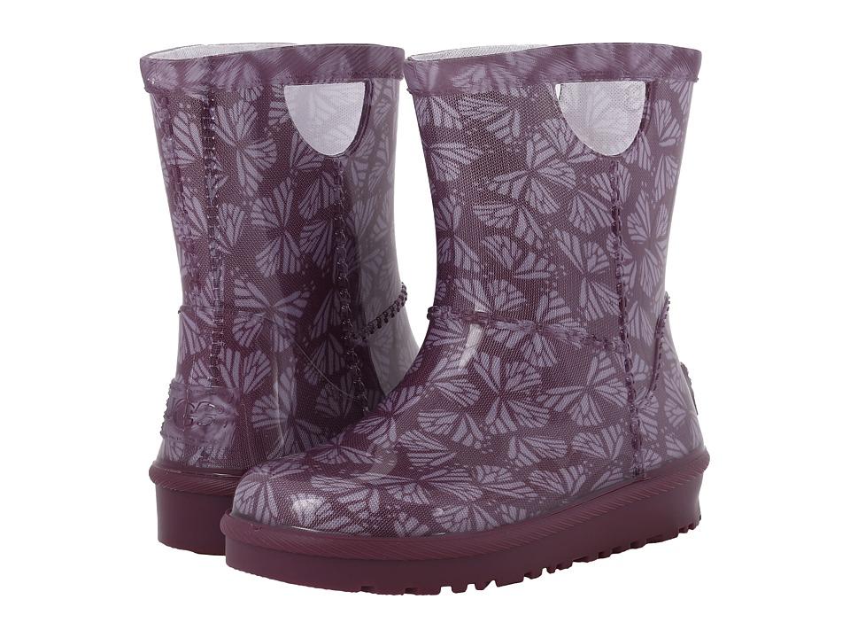 UGG Kids Rahjee Butterflies (Toddler/Little Kid) (Purple Passion) Girls Shoes