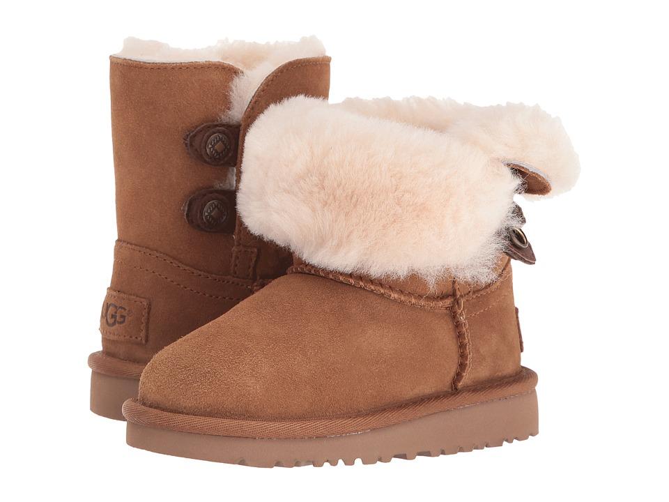 UGG Kids Maybin (Toddler/Little Kid) (Chestnut) Girls Shoes