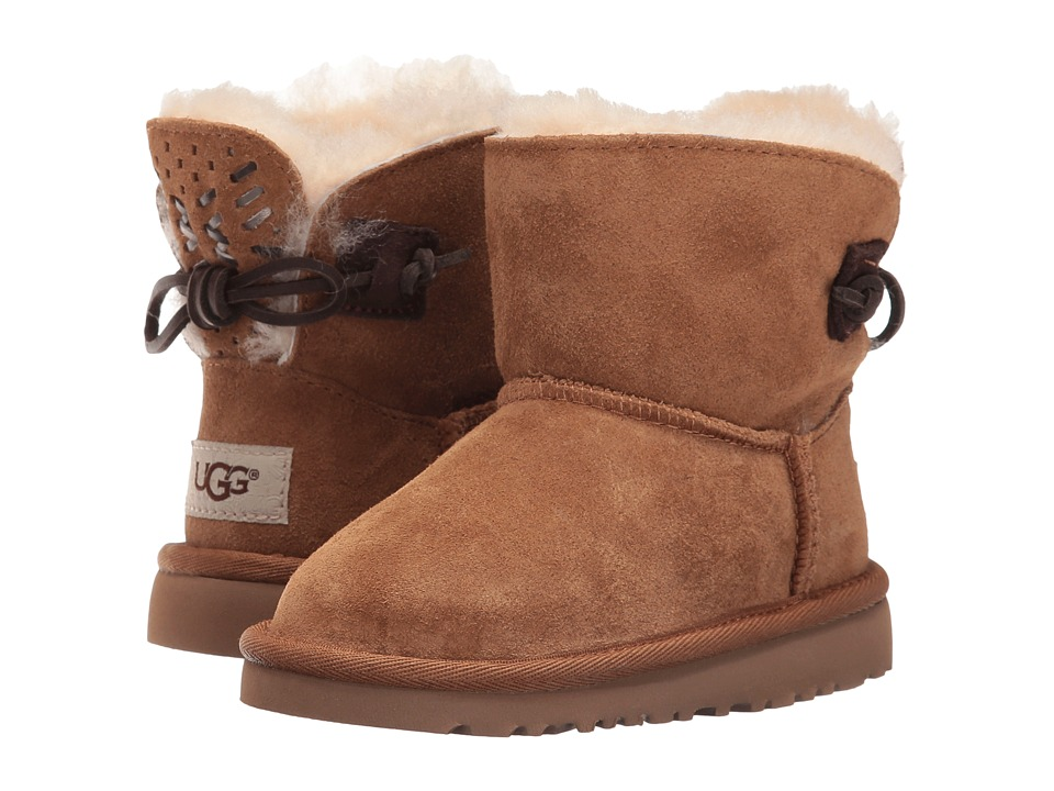 UGG Kids - Adoria Tehuano (Toddler/Little Kid) (Chestnut) Girls Shoes