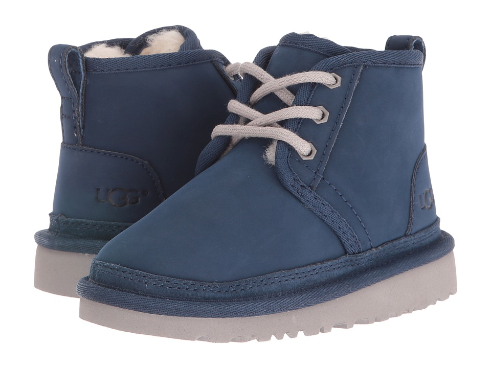 UGG Kids - Neumel (Toddler/Little Kid) (New Navy) Kid's Shoes