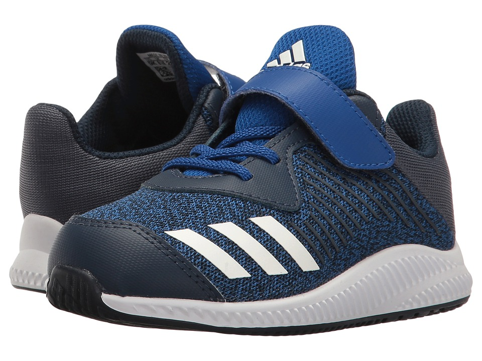 adidas Kids - FortaRun EL (Toddler) (Collegiate Royal/Footwear White/Collegiate Navy) Boys Shoes
